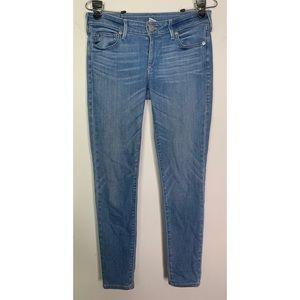 True Religion Casey Low Rise Super Skinny Jeans